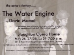 The Water Engine publicity poster, 2004